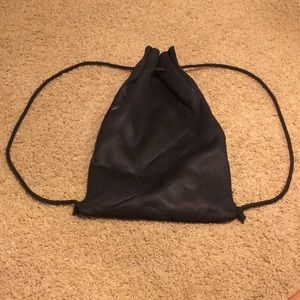 Triangle Black Purse